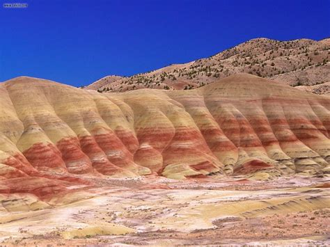 nature painted hills john day fossil beds national