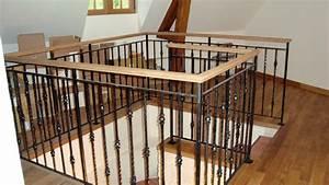 Balustrade En Bois : escalier ~ Melissatoandfro.com Idées de Décoration
