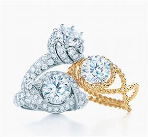 tiffany co schlumbergerr buds ring engagement rings With tiffany jewelry wedding rings