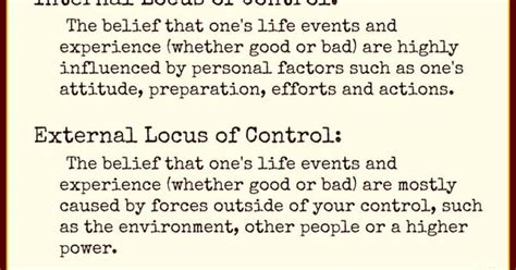 Locus Of Control Quotes