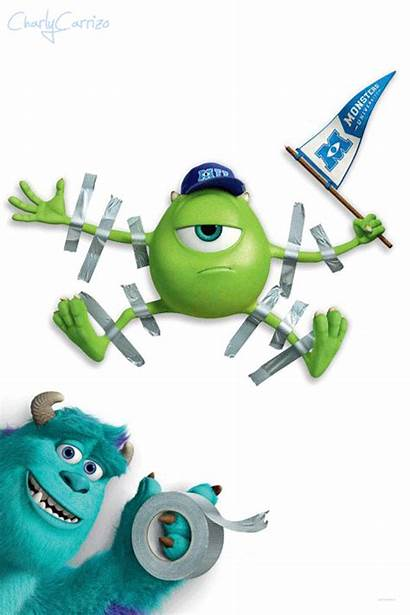Monster Mike Inc Wazowski University Animated Gifs