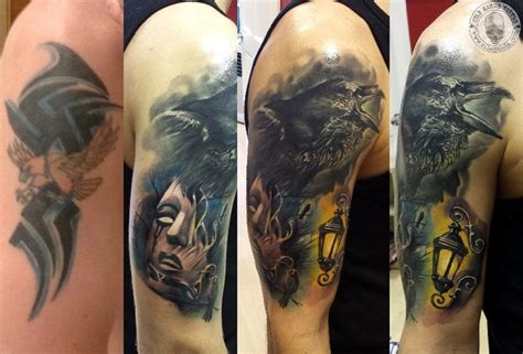 Small Tribal Tattoo Cover Up