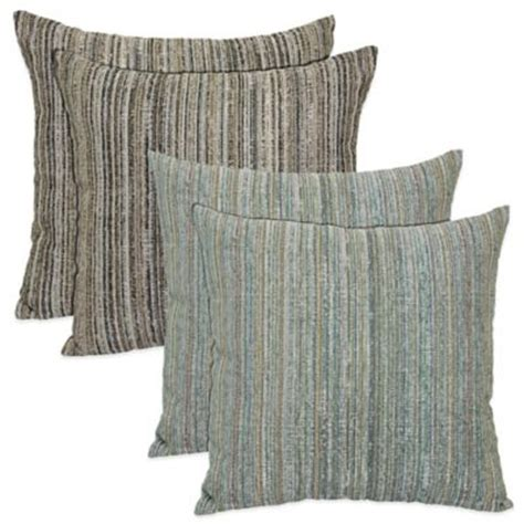 brentwood originals tipps cornerstone pillow in blue set