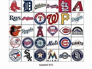 Major League Baseball teams - logos 棒球队标志, baseball 棒球 ...