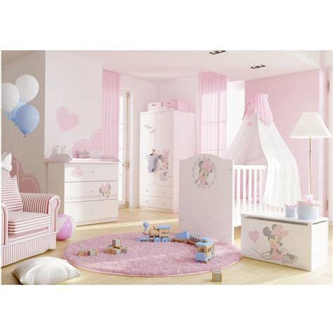 chambre bébé minnie lit minnie mouse 90 cm azura home design