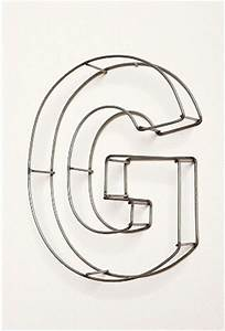swissmiss wire frame letters With wire frame letters