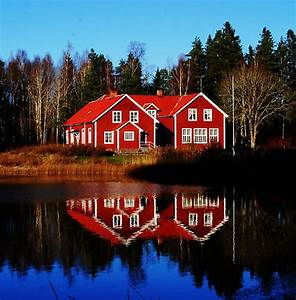 Love the Swedish Red Houses Pinterest Home Decor