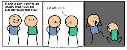 Gifs Explosm Comics Happiness Cyanide Dave