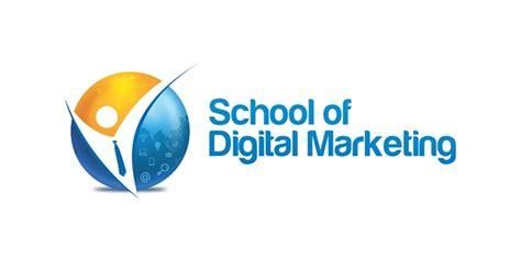 digital school of marketing school of digital marketing logo on pantone canvas gallery