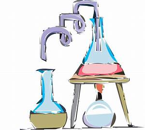 Chemistry experiment vector clipart image - Free stock ...
