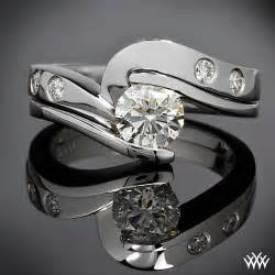 tension setting engagement ring tension engagement rings