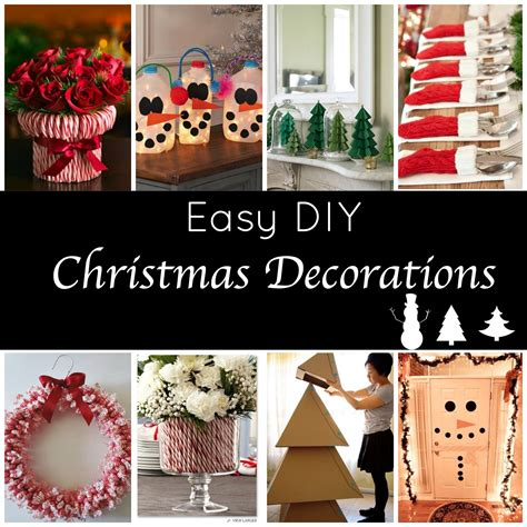 diy christmas decorations holiday  easy