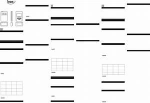 Handleiding Irox Ethg 912  Pagina 1 Van 2   Deutsch