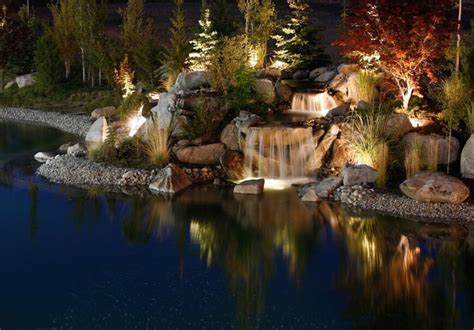 improve  outdoor ponds  special led lighting