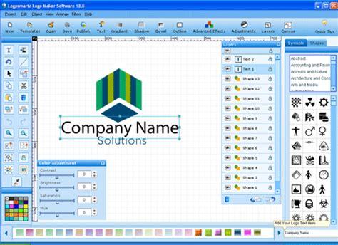 free logo design software tech crome logosmartz logo maker 10 version