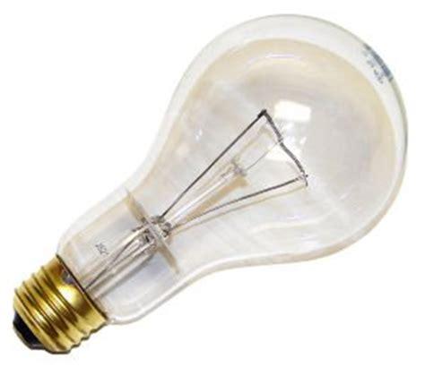 incandescent light bulb a 21 neck 150