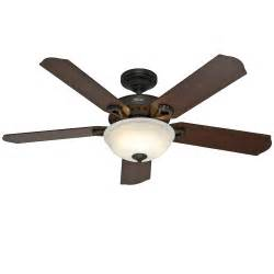 hunter 52 quot new bronze ceiling fan with light remote