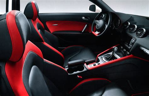 audi tt  rs  inspired interior top speed