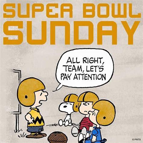 Super Bowl Sunday The Peanuts Gang Pinterest