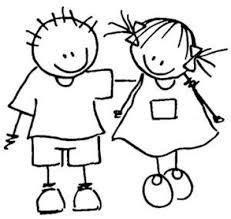 menina palito desenhos images  pinterest stick