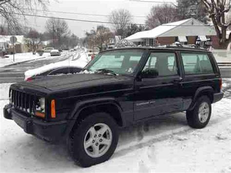 2000 jeep cherokee black sell used 2000 jeep cherokee sport 2 door black beauty
