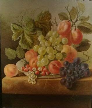 jc de bruyn   fruit stilleven op natuurstenen tafel catawiki
