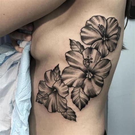 Flowertattoosblackandwhitehibiscusflowertattoos