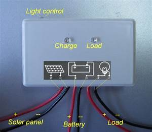 12v 5a Solar Charge Controller With Dusk To Down Switch