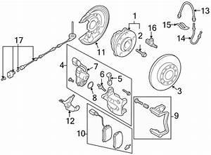 2008 Volkswagen Passat Wagon Abs Wheel Speed Sensor Wiring