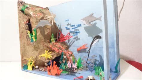 ecosistema marino 2 maqueta youtube