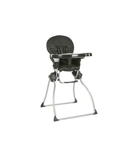 Joovy Nook High Chair Charcoal by Joovy Nook High Chair In Black Leatherette