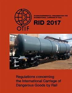 Regulations On The Transport Of Dangerous Goods By Air ...