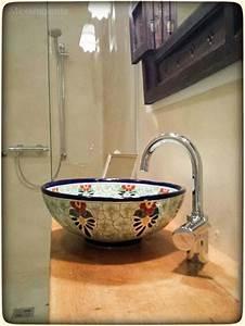 Waschbecken Retro Design : 18 best images about originelle badezimmer mit waschbecken aus mexiko on pinterest handmade ~ Markanthonyermac.com Haus und Dekorationen