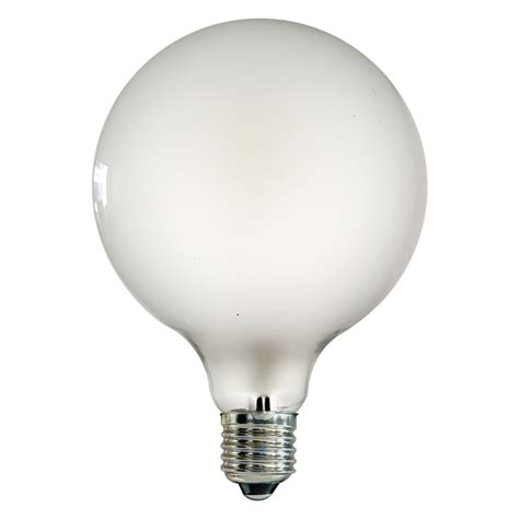 g125 e27 large globe led 4w frosted light bulb lighting