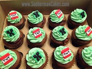 Minecrafts cupcake | Cupcakes | Pinterest | Birthdays ...