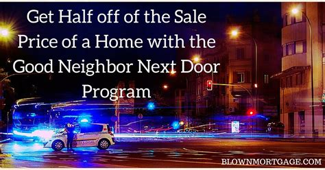 next door program get half of the price of a home with the