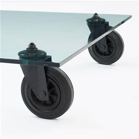 gae aulenti tavolo a gae aulenti sofa table tavolo con ruote by gae aulenti