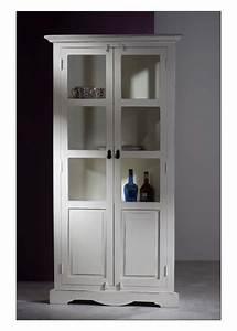 Beistelltisch Weiß Landhaus : vitrine oxford landhaus weiss shabby chic ebay ~ Watch28wear.com Haus und Dekorationen