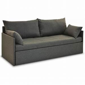 Canapes lits gigognes canapes et convertibles doubli for Tapis chambre bébé avec canapé 150 cm convertible