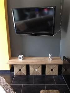 Petit Meuble Tele : petit meuble sous t l ~ Farleysfitness.com Idées de Décoration