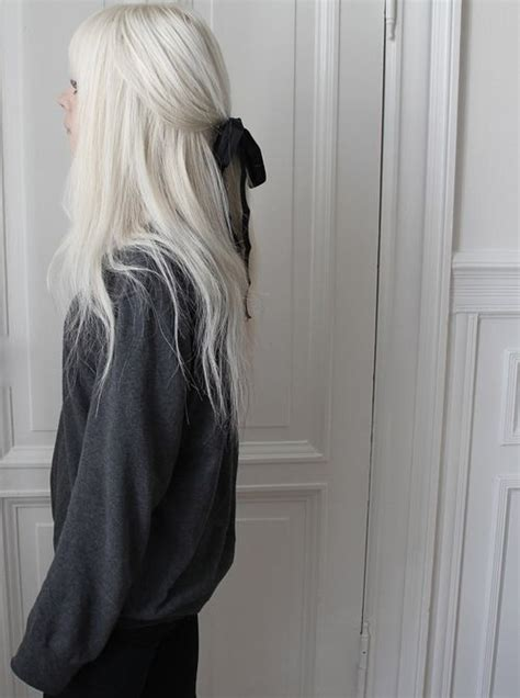 How To Get Your Hair White W Just 1 Salon Trip In 2019