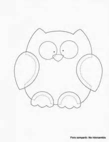 Printable Owl Pattern Template