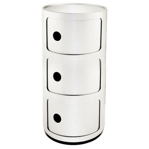 canape ethnicraft componibili kartell meuble de rangement 3 tiroirs blanc