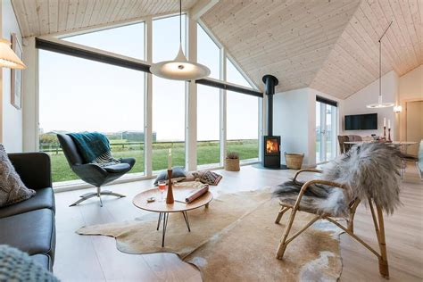 Incredible Danish Wooden House Promoting Industrial Beauty