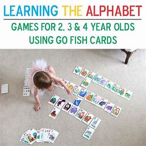 go fish paige in a blanket learning the alphabet With letter learning games for 3 year olds