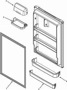 Maytag Refrigerator Fresh Food Inner Door Parts