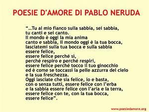 Poesie d'Amore di Pablo Neruda Immagini Poesie d'Amore di Pablo Neruda