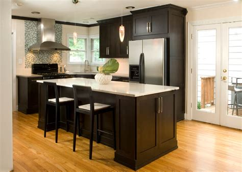 high end kitchen islands 52 kitchens with wood and black kitchen cabinets