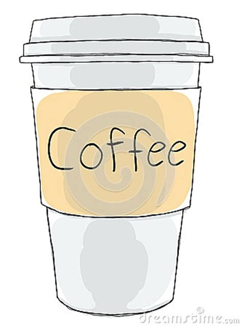Decorate your laptops, water bottles, helmets, and cars. Coffee Cup Take Away Stock Illustration - Image: 42694303