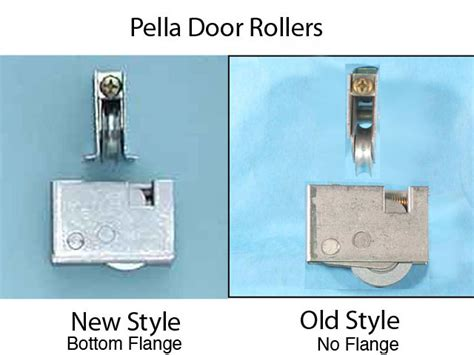 roller assembly pella patio door new style